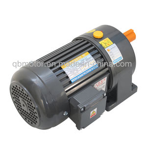 750W Horizontal Aluminum Brake Geared Motor 3-Phase Gear Reducer pictures & photos