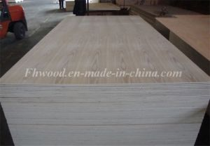 Natural Ash Veneered Decorative Plywood pictures & photos