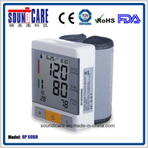 Medical Supply Ce FDA Approval Blood Pressure Monitor (BP60BH) pictures & photos