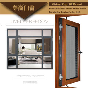 Amazing Design Aluminium/Aluminum Window with Fly Screen (Net) pictures & photos