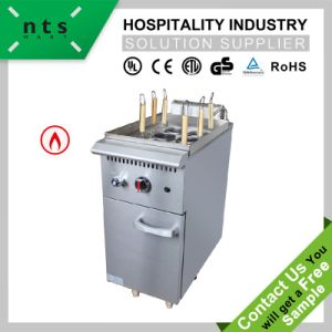 Gas Noodle Cooker with Cabinet (6 Baskets) for Hotel & Restaurant & Catering Kitchen Equipment pictures & photos