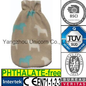 CE Fleece Horse Hot Water Bottle Cover pictures & photos
