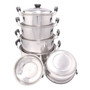 High Quality of Cookware Set Stainless Steel pictures & photos