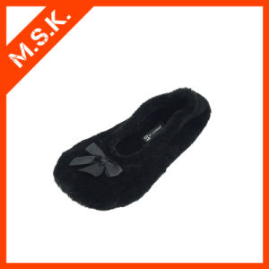 2014 New Fashion Rollable Dancing Shoes Ballet Slippers (D0102, Black)