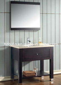 Solid Wood Bathroom Vanity (BA-1110) pictures & photos