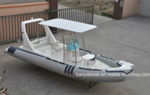 Liya 6.2m Sport Motor Boat Hypalon Inflatable Rib Boat China for Sale pictures & photos