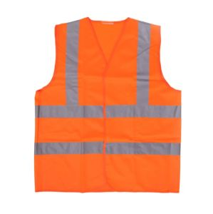 Reflective Safety Vest with Reflector Tape (TR-BX-008)