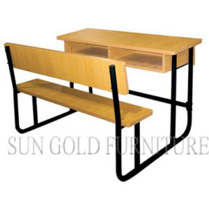 Double Student Desk and Chair (SZ-SF18) pictures & photos
