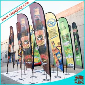 Outdoor Custom Printing Teardrop Flag/Flying Flag/Banner pictures & photos