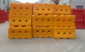 New Arrival Useful Water Filled Plastic Road Barrier pictures & photos