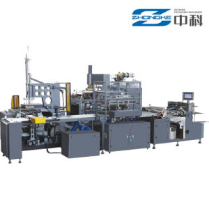 Zhongke Automatic Box Pasting Machine pictures & photos