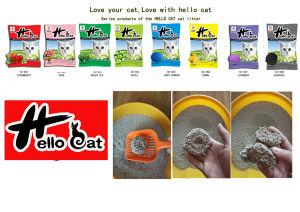 2016 Hot Pet Supplt Dust-Free Bentonite Clumping Globular Cat Litter