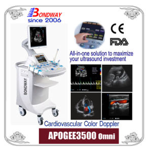 Cardiovascular Color Doppler-CE FDA, Ultrasound Imaging System, 4D or Real-Time 3D