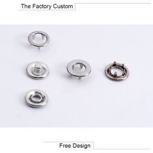 Hollow Metal Buckle with Five Claws Customized pictures & photos
