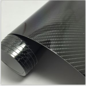 1.52 * 20m High Glossy Car Body Wrapping Vinyl 5D Carbon Fiber pictures & photos