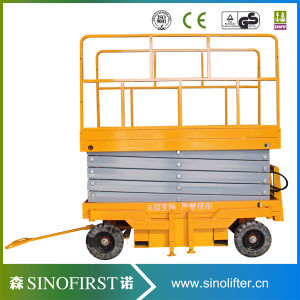 1.5m Very Low Failure Rate Hydraulic Scissor Platform Lift pictures & photos
