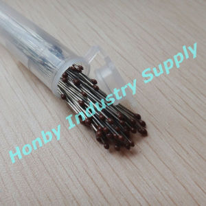00#-5# Size 40mm Epoxy Resin Head Stainless Steel Lab Insect Pin for Collection and Dissection