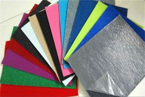 100% Polyester Coated Film Exhibition Carpet pictures & photos