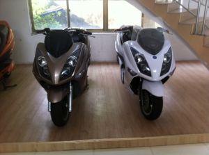 EEC Approval Top Fast 120kmh 72V 40ah Electric Scooters Motorcycles (HD6000W-A3) pictures & photos