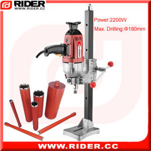 2200W Electric Rock Drill Concrete Core Drill Rig pictures & photos