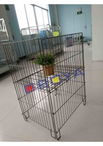 Square Basket / Metal Cage for Supermarket pictures & photos