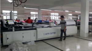 Tmcc-1725 Apparel Textile Machinery CAD Cam System CNC Cutting Machine pictures & photos