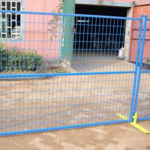 """6foot X 10foot Square Pipes 1"""" X 1"""" Mesh 50mm X100mm Temporary Construction Fencing Panels pictures & photos"""