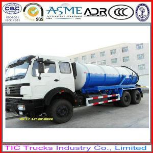 North Benz 6X6 Sewage Vacuum Truck / Septic / Tanker Truck 16cbm.