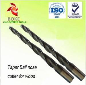 Solid Carbide Tapered Ball Nose End Mills pictures & photos