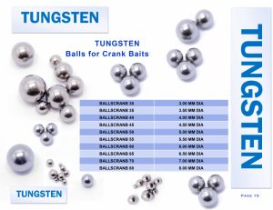 Wholesale Discounting Tungsten Ball for Crank Baits pictures & photos