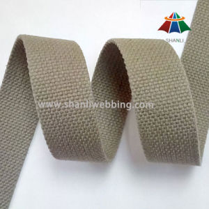 27mm Army Green Flat Cotton Belt Webbing for Webbing Belt pictures & photos