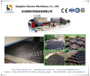 HDPE Geocell Producing Machine Slope Protection Geocell Extruding Line Sheet Equipment pictures & photos