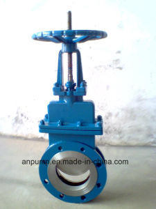 Cast Carbon Steel Wedge-Shaped Gate Valve of API ANSI JIS DIN pictures & photos