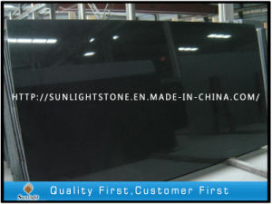 High Polished Shanxi Black Granite Countertop/Paving Slabs for Sale pictures & photos