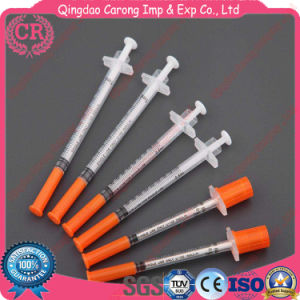 Medical Disposable Diabetic Syringe Insulin Syringe pictures & photos