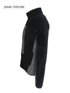 Men Fake/ Faux Fur Knitted Jacket pictures & photos