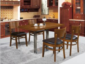 Imported Wood Finish Cafe Coffee Shop Restaurant Furniture pictures & photos