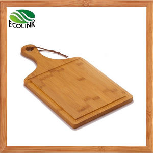 Bamboo Chopping Block with Handle pictures & photos