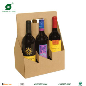Corrugated Wine Carrier (FP7047) pictures & photos