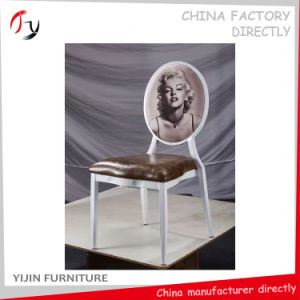 Hotel Luxury Business Functional White Frame Dinner Chairs (FC-16) pictures & photos
