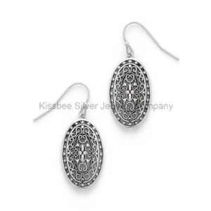 Latest Silver Jewellery Antique Earring Set Jewelry pictures & photos