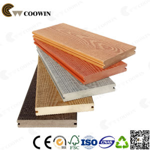 Qingdao Coowin Developed New 3D Wood Grain Decking pictures & photos