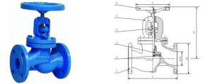 DIN F4/F5 Series Rising Stem Gate Valves (Z41H)