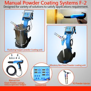 Fluidizing Box Feed Powder Coating System pictures & photos