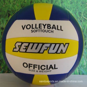 Eco- Friendly Non-Toxic PVC Volleyball pictures & photos