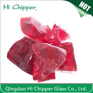 Hi Chipper Transparent Colorful Glass Rocks pictures & photos