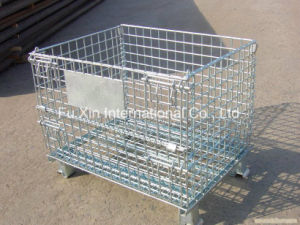 Warehouse Galvanized Welded Wire Mesh Storage Cage with Heavy Duty pictures & photos