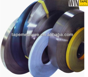 10mm Flat Rolled Spring Steel Raw Material for Glasses and Tape Measures pictures & photos