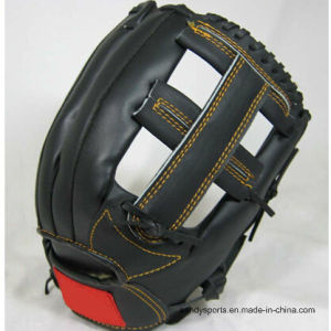 Customized Promotion Brown Baseball Glove pictures & photos