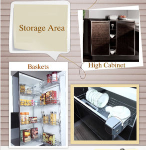 Lacquer Finished Cabinet of Kitchen Using (zz-065) pictures & photos